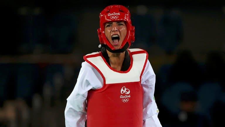 Yasmina Aziez, 4e en taekwondo