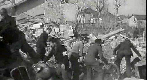 Dans la nuit du jeudi 23 mars 1944, vers 0 h 30, les bombes anglaises pleuvent sur Parilly