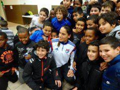 Amel Majri est très appréciée à l'AS Minguettes