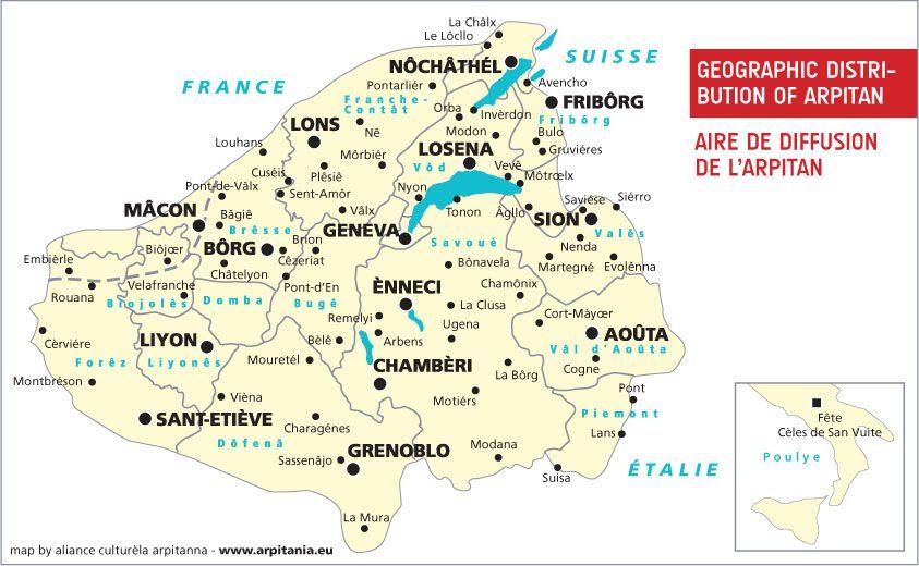 Arpitan_francoprovencal_map