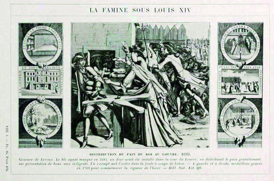 famine sous LouisXIV