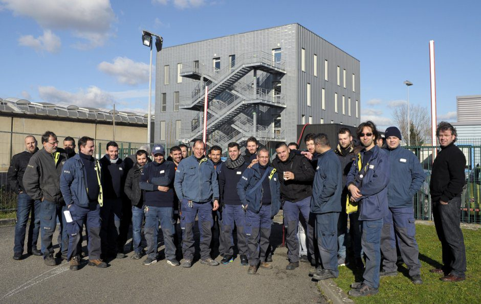 grève ERDF Vénissieux