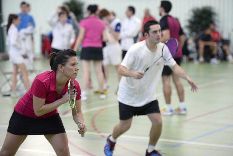 23eme Bad trip de VŽnissieux Badminton. Samedi 14 nov.2015. au gymnase J.Brel.Avec Tiphaine Davriu, nouvelle presidente