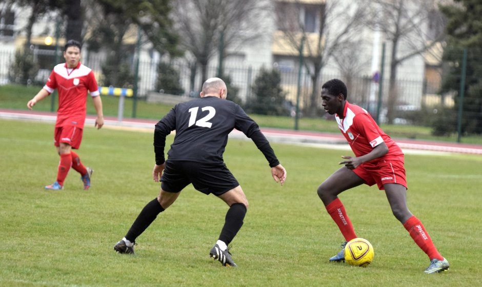Foot, USV contre entente St Priest © DY Dim. 31 jan.2016