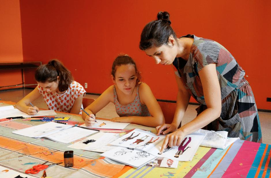 L'atelier stylisme pour les ados. Photo MTMAD Sylvain Pretto