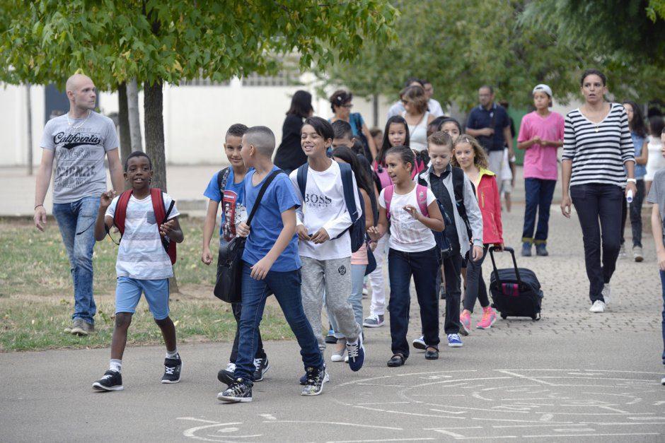 RentrŽe scolaire Žcole primaire du Moulin ˆ Vent. 1/09/2015. Directrice Christine Sage. © Rapha'l BERT