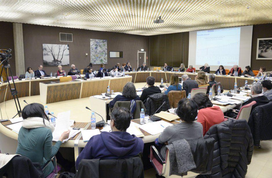 Conseil Municipal 2 fev. 2016. Adoption du budget.