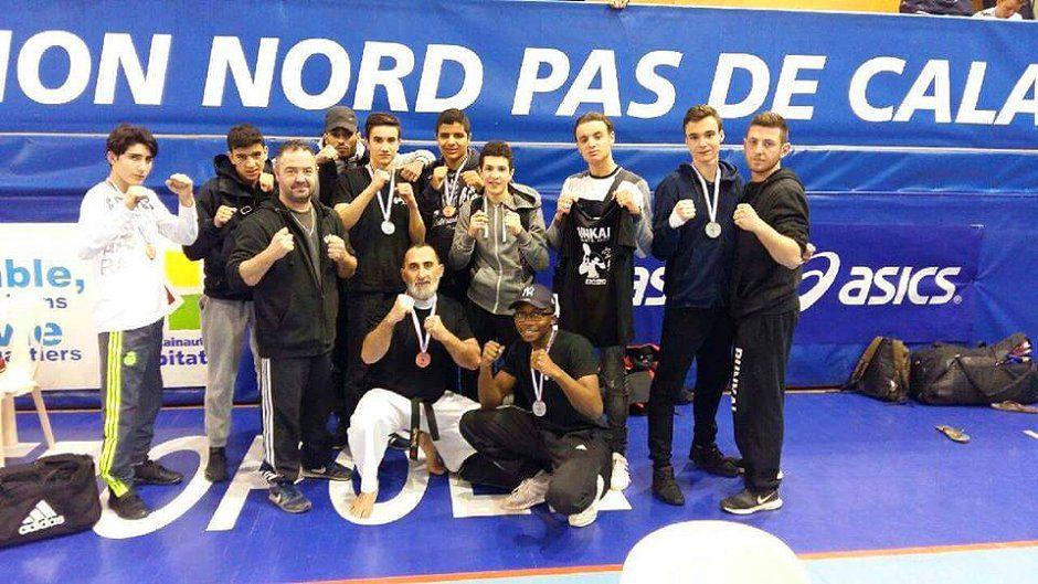 L'équipe du Bunkaï-Karaté-Do