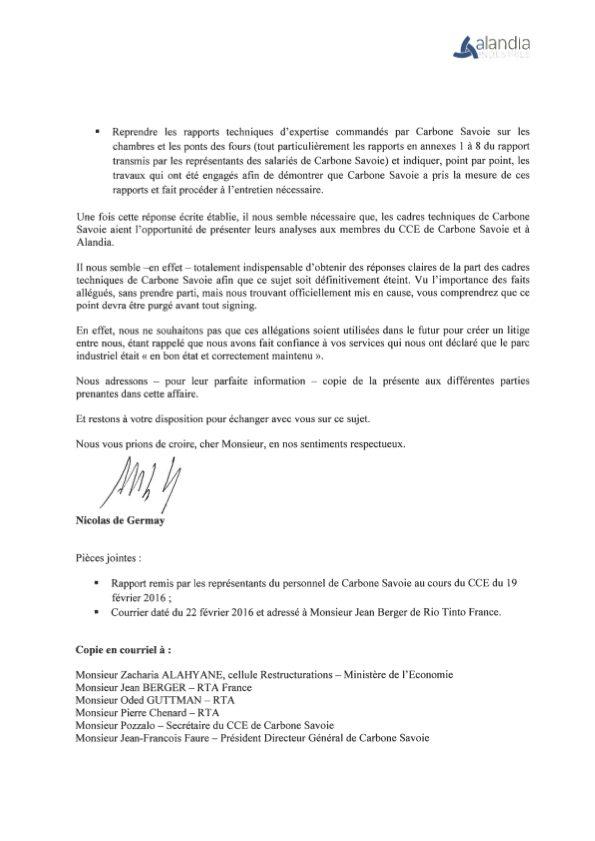 Courrier Alandia - Rio Tinto 25 février 2016 (2)