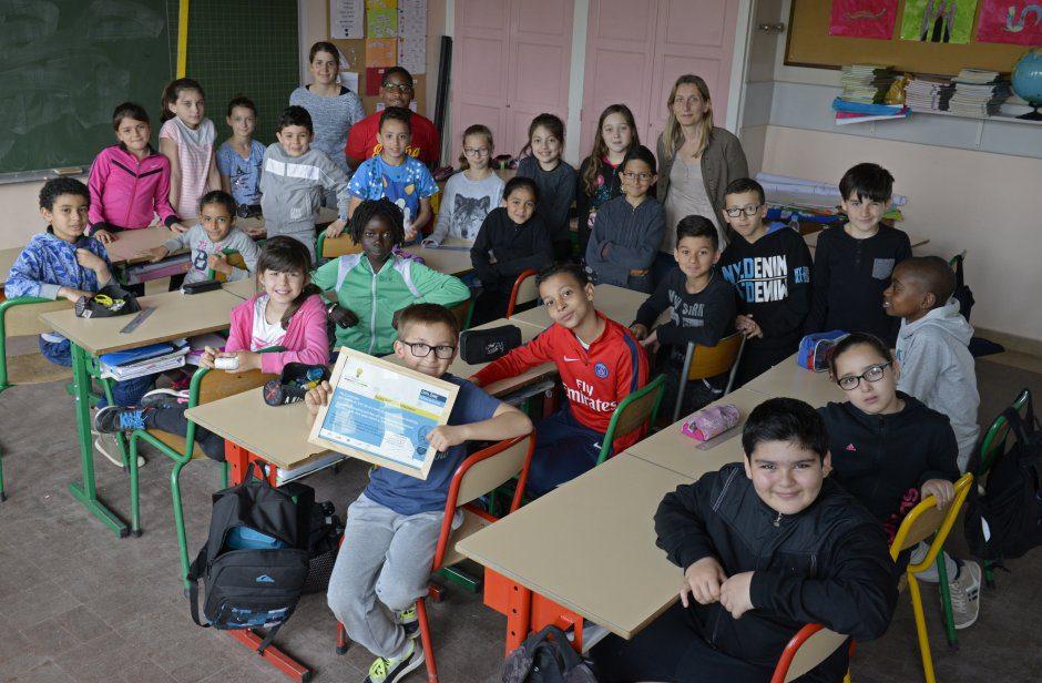 Ecole primaire de Parilly. Classe de Mme Maneval travail sur les Žconomies d'Žnergie.