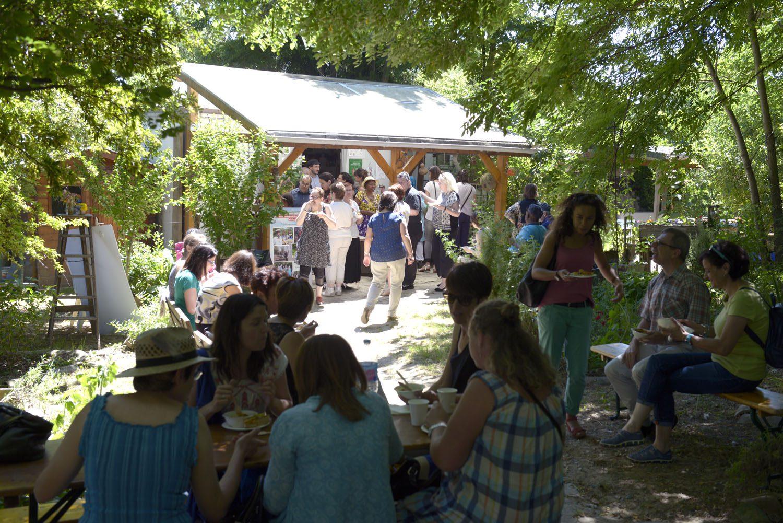 La r colte de bonheur du jardin de l envol expressions for Jardins jardin 2016