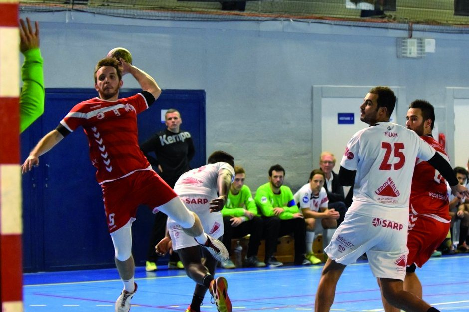 VHB coupe France contre Valence
