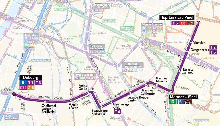 tramway t6 2018 sera une grosse ann e de chantier expressions. Black Bedroom Furniture Sets. Home Design Ideas